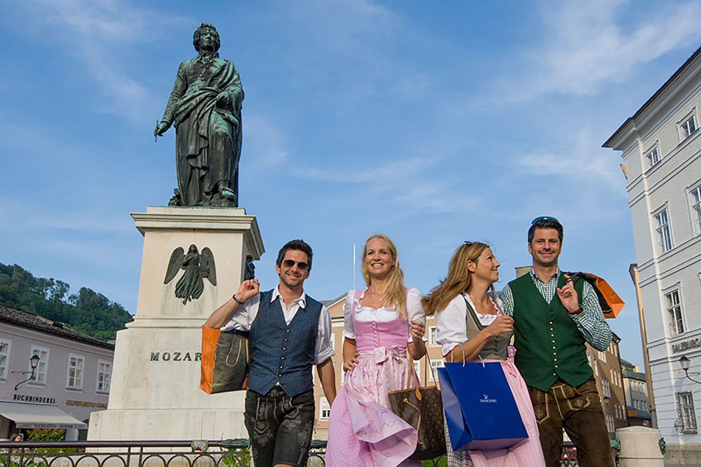 Salzburger Innenstadt ferienunterkünfte mit special service