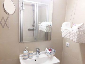 Appartement Constanze in der Getreidegasse in Salzburg mit Badezimmer