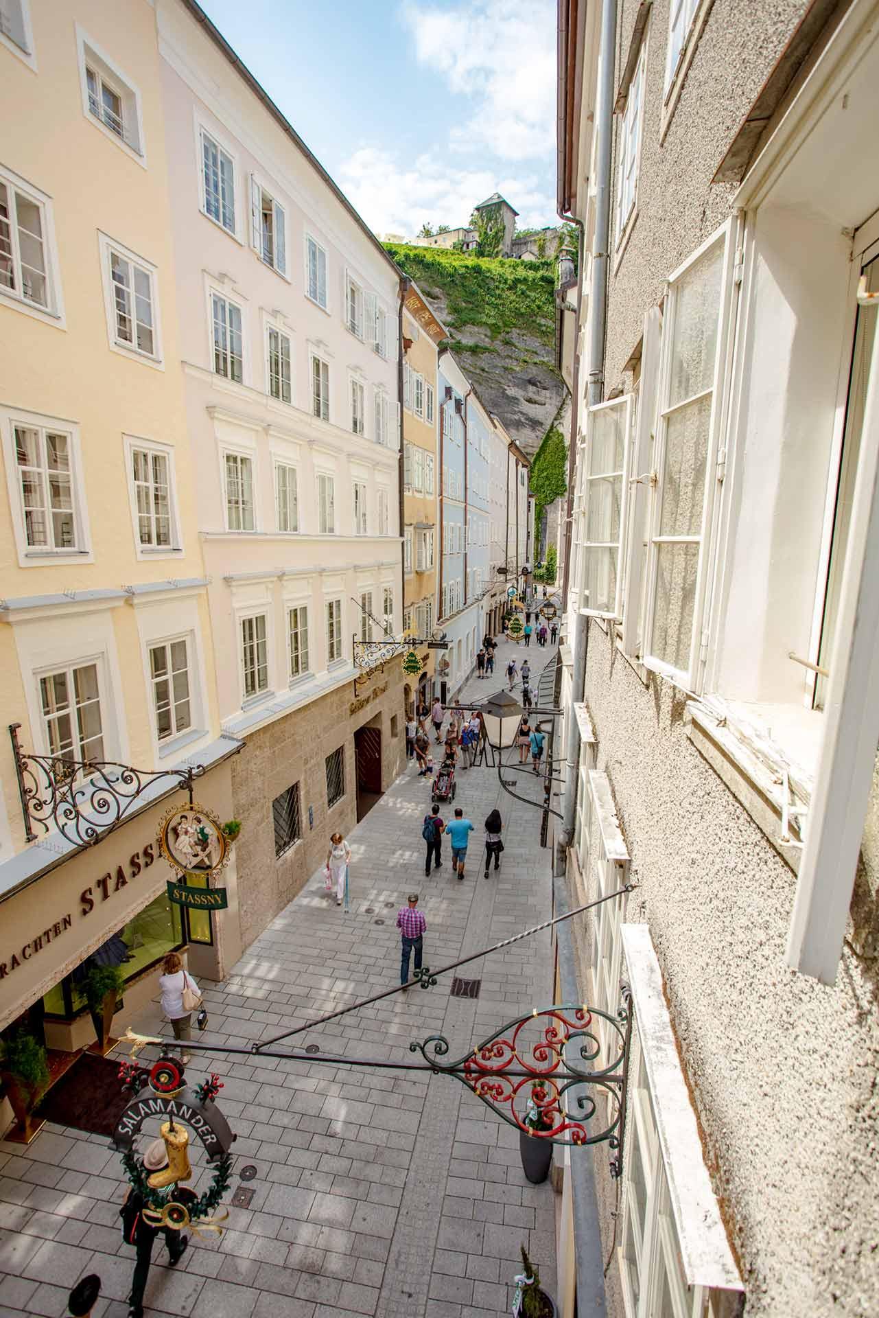 Salzburger Altstadt Getreidegasse innenstadt - Wuhnen Kurzzeitmiete