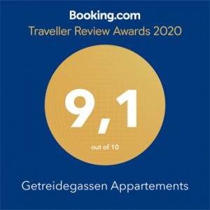 Getreidegassen Appartements Salzburg Travveller Review Awards 2020
